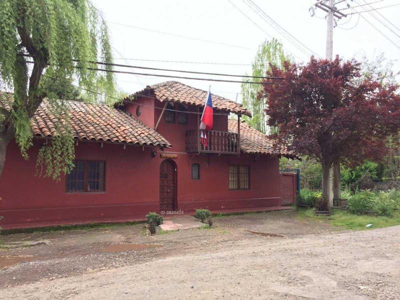 Camino Los Quillayes / con Camino La Medialuna - Pirque